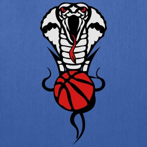 basketball logo 2 snakes cobra Kids' Shirts - Tote Bag