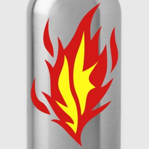 flame fire 91003 T-Shirts - Water Bottle
