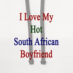 i_love_my_hot_south_african_boyfriend Women's T-Shirts - Contrast Hoodie