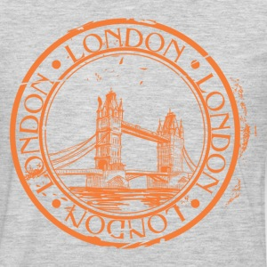 London travel stamp T-Shirts - Men's Premium Long Sleeve T-Shirt