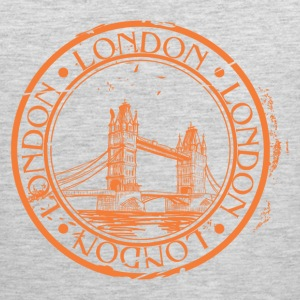 London travel stamp T-Shirts - Men's Premium Tank