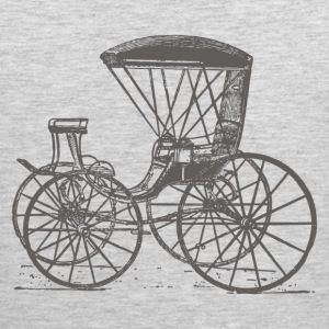 Antique transport vehicle T-Shirts - Men's Premium Tank
