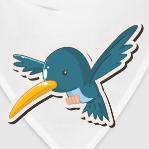 Amusing cartoon bird design T-Shirts - Bandana