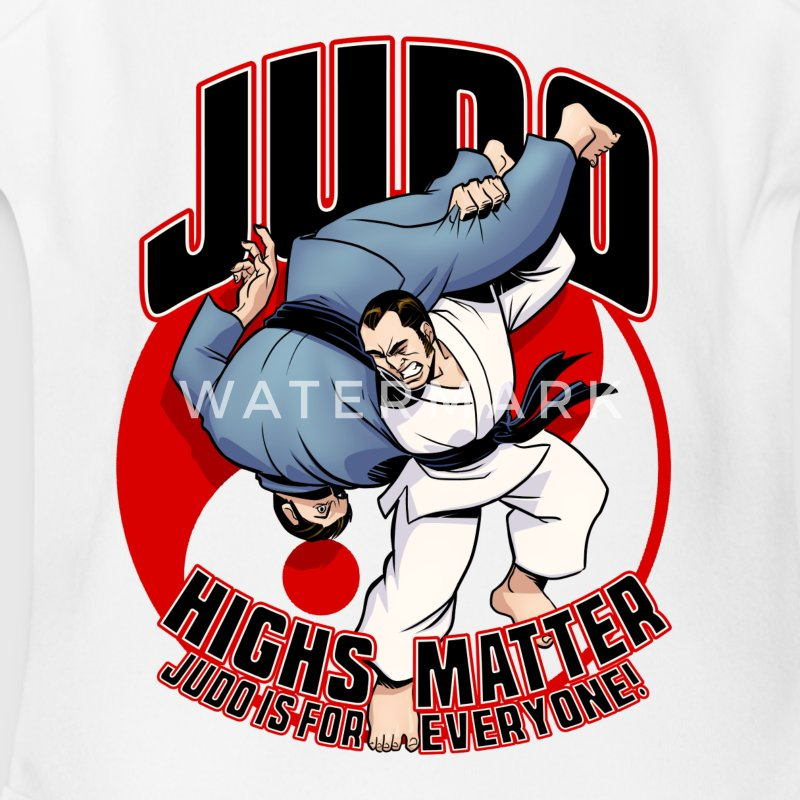 Judo Highs Matter - Short Sleeve Baby Bodysuit