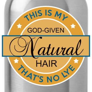 God-Given Natural Hair - Water Bottle