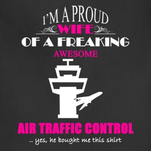 Air Traffic Control Wife - Adjustable Apron