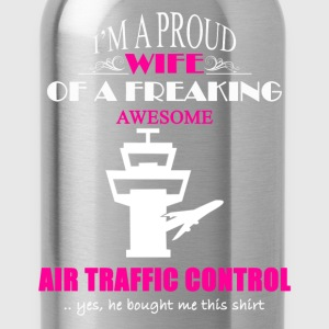 Air Traffic Control Wife - Water Bottle