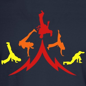 animation capoeira group 12 T-Shirts - Men's Long Sleeve T-Shirt