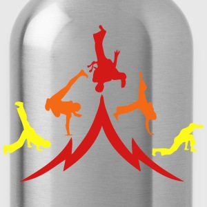 animation capoeira group 12 T-Shirts - Water Bottle