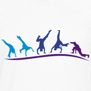 animation capoeira group 1 T-Shirts - Men's Premium Long Sleeve T-Shirt