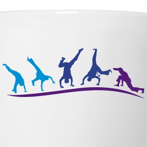 animation capoeira group 1 Kids' Shirts - Coffee/Tea Mug