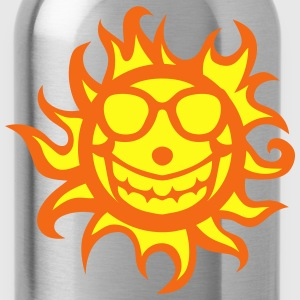 sun symbol glasses 903 T-Shirts - Water Bottle