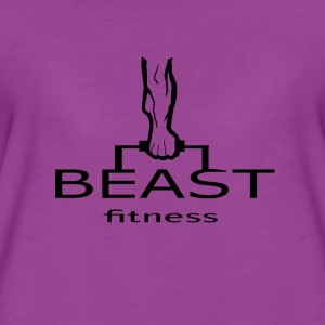 Gym Beast Fitness Women - Women's Premium T-Shirt