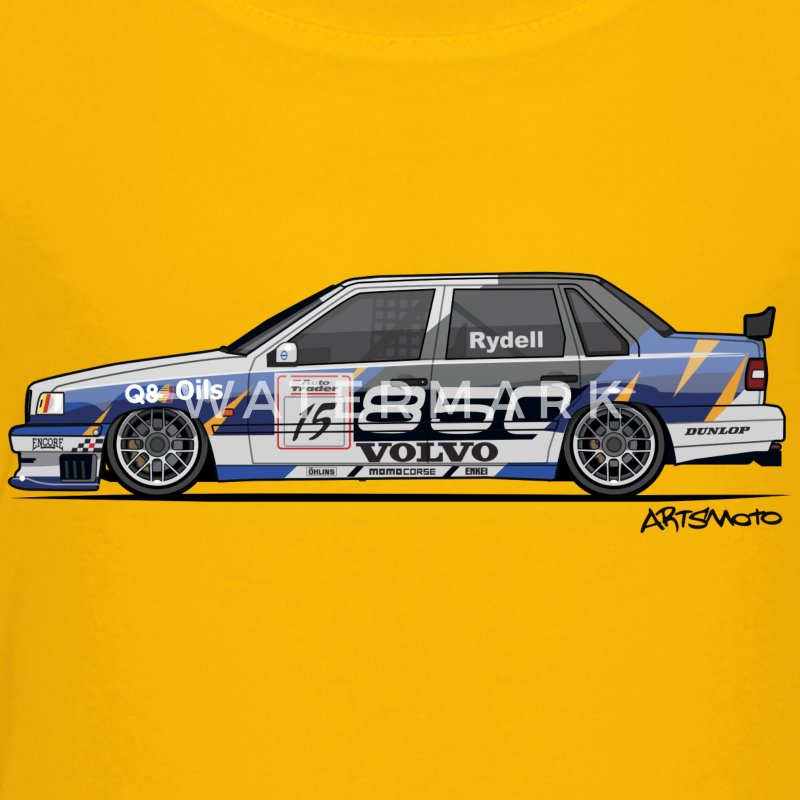 Volvo 850 Saloon TWR BTCC Super Touring Car Baby & Toddler Shirts - Toddler Premium T-Shirt