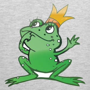 Cartoon frog prince T-Shirts - Men's Premium Tank
