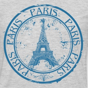 Paris travel stamp T-Shirts - Men's Premium Long Sleeve T-Shirt