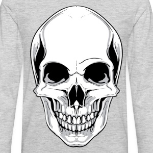 Skull front view design T-Shirts - Men's Premium Long Sleeve T-Shirt