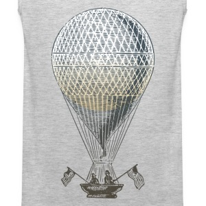 Vintage transport air balloon T-Shirts - Men's Premium Tank
