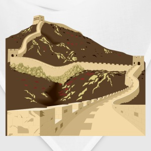 Great wall of china T-Shirts - Bandana