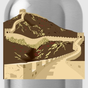 Great wall of china T-Shirts - Water Bottle