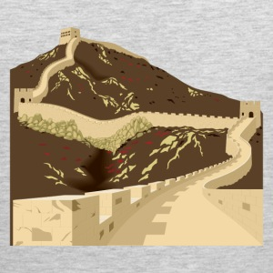 Great wall of china T-Shirts - Men's Premium Tank