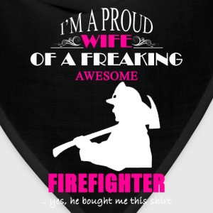 Firefighter Wife Shirt - Bandana