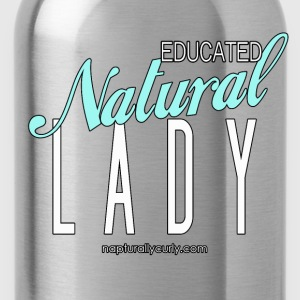 Educated Natural Lady - Water Bottle
