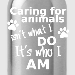 Caring Animals Shirt - Water Bottle