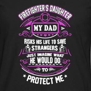 Firefighter's Daughter - Men's Premium Long Sleeve T-Shirt