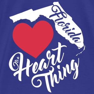 It's a Heart Thing Florida - Men's Premium T-Shirt