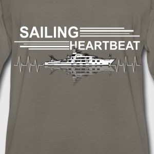 Sailing - Heartbeat - Men's Premium Long Sleeve T-Shirt