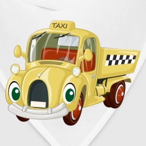 Amusing cartoon car creative design T-Shirts - Bandana
