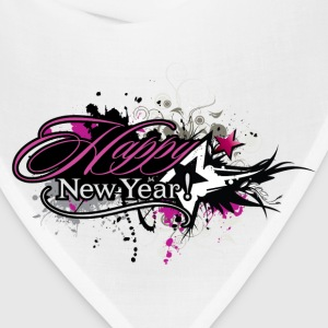 Happy new year trend decoration T-Shirts - Bandana