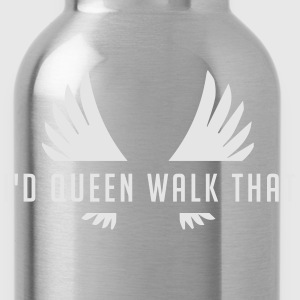 Clash of Clans Queen Walk - Silver Metallic - Water Bottle