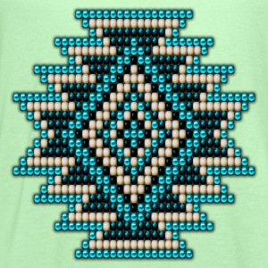 Turquoise Native Sunburst - Women's Flowy Tank Top by Bella
