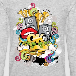 Creative music style design T-Shirts - Men's Premium Long Sleeve T-Shirt