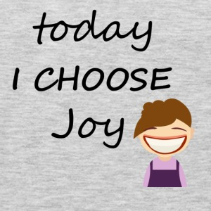 Today I Choose Joy - Men's Premium Long Sleeve T-Shirt