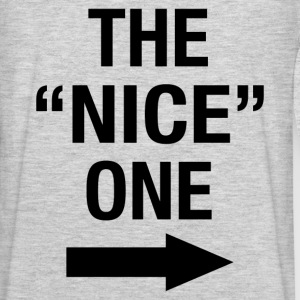 THE NICE ONE - Men's Premium Long Sleeve T-Shirt