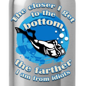 Scuba Diving - Farther - Water Bottle