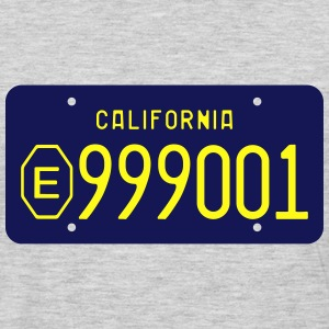 1970s-1980s California Exempt License Plate  T-Shirts - Men's Premium Long Sleeve T-Shirt