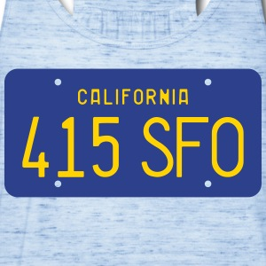 415 SFO T-Shirts - Women's Flowy Tank Top by Bella
