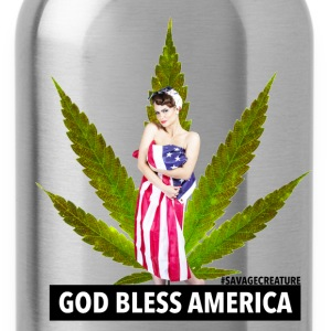 GOD BLESS AMERICA - Water Bottle