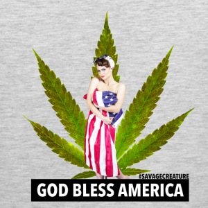 GOD BLESS AMERICA - Men's Premium Tank