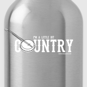 'I'm A Little Bit Country' Men's Sweatshirt  - Water Bottle
