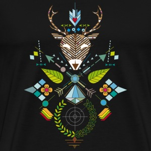 deer hunting Long Sleeve Shirts - Men's Premium T-Shirt