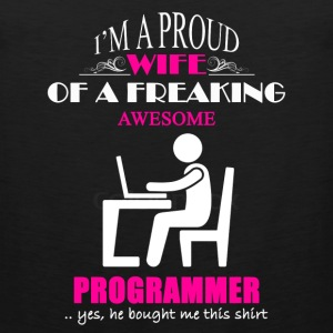 Programmer Wife Shirt - Men's Premium Tank