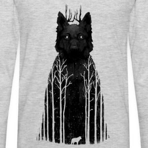 black forest wolf - Men's Premium Long Sleeve T-Shirt