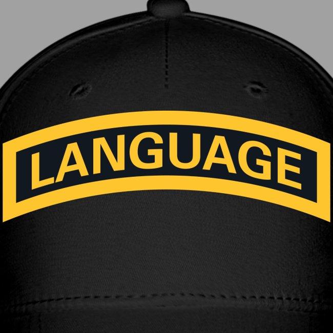 "Next Level ""Language"" Tab Tee"