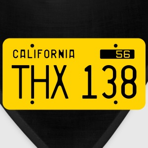 Retro 1956 California License Plate T-Shirt - Bandana