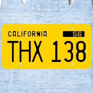 Retro 1956 California License Plate T-Shirt - Women's Flowy Tank Top by Bella
